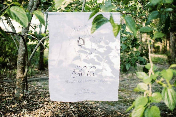 Tahlia | Linen Welcome Sign