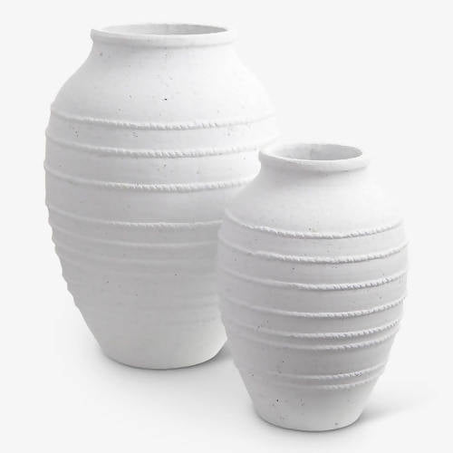 Corfu White Urn Set
