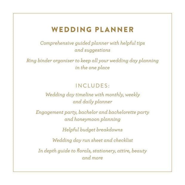 Ultimate Wedding Planner | Fox&Fallow