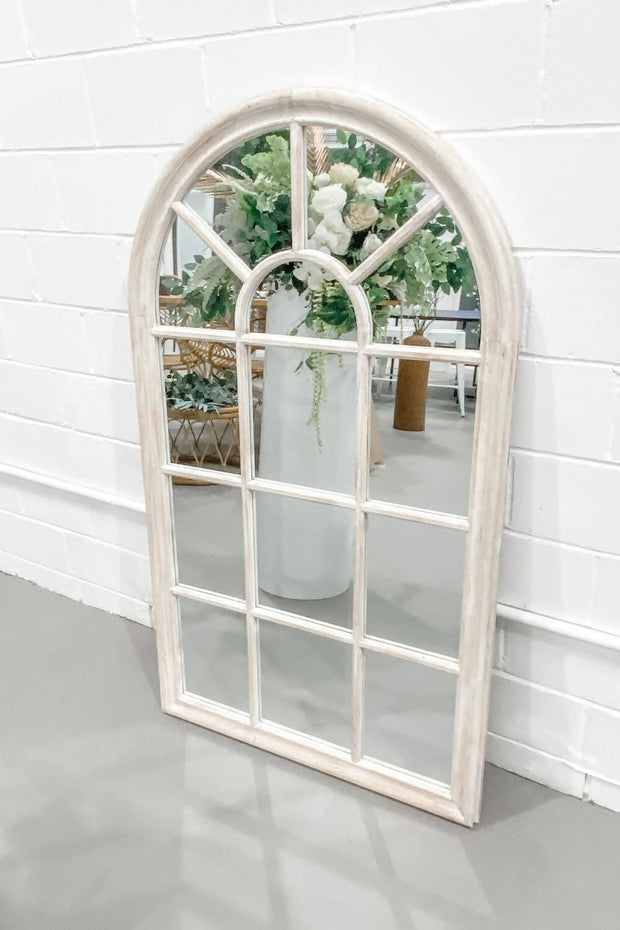 'Bella' Whitewash Mirror