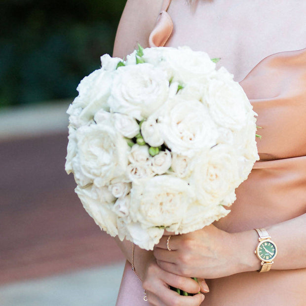 Lollipop Rose Bridal Bouquet
