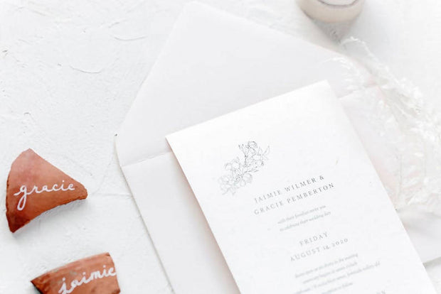 CORA | Wheat invitation suite