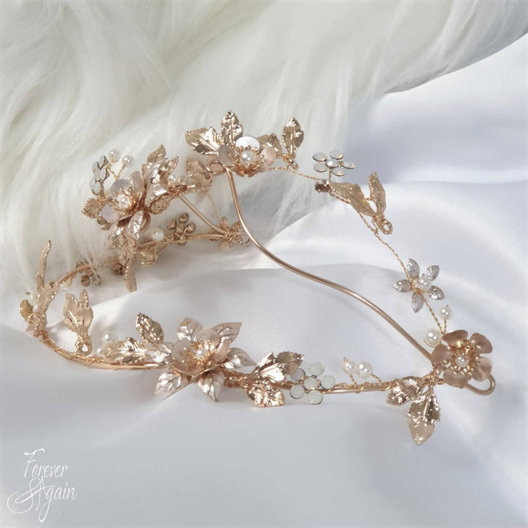 MARISOL FLORAL CROWN C00564: HAIR ACCESSORIES, BRIDAL CROWN, GIFT VOUCHER