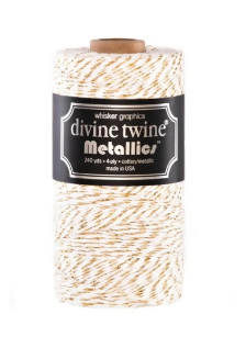 Gold Metallic Twine