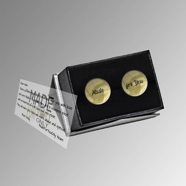 Man of honor with Names and Date, Wedding Gift, Personalised cufflinks, customised cufflinks, MFY63
