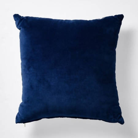NAVY VELVET CUSHION