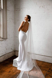 PENELOPE - IVORY WEDDING VEIL