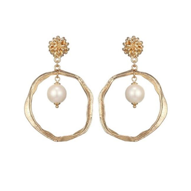Eternal Allure Pearl Earrings