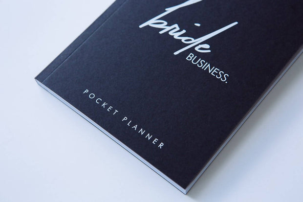 BRIDE BUSINESS POCKET PLANNER