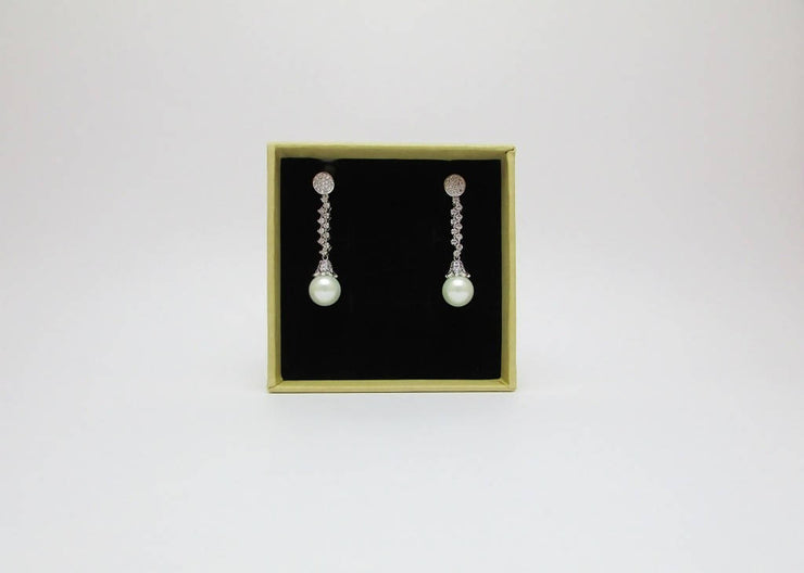 FRANCA BRIDAL DROP EARRINGS