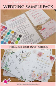 Welcome INVITATION SAMPLE PACK