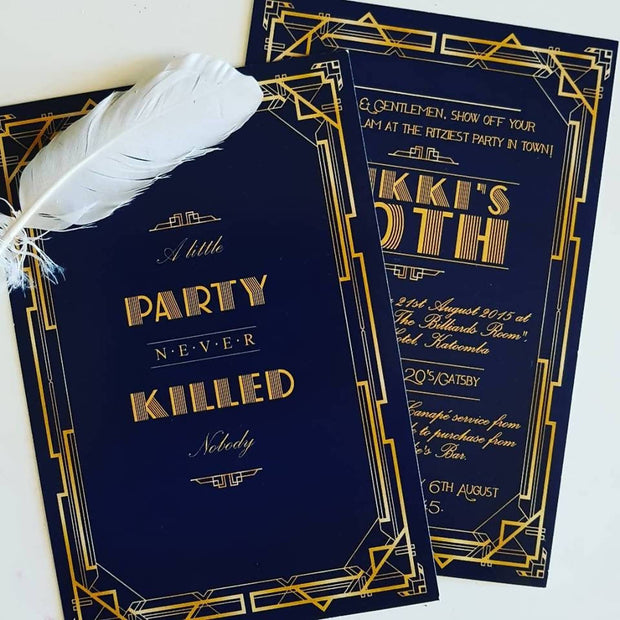 A Little Party Never Killed Nobody - Hens Night Invitations