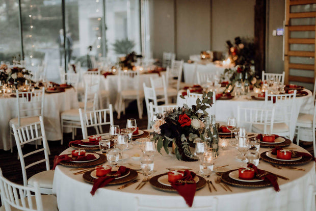 Rustic Romance Table Styling Package (Price per table of 10)