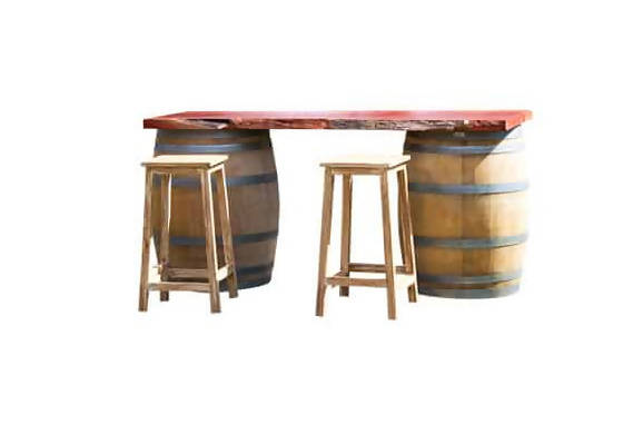 JARRAH BARREL BAR – SHORT