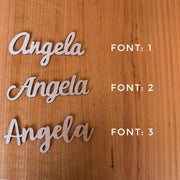 WOODEN NAME LASERCUT PLACECARDS | CUSTOM SEATING NAMES 10 PACK+