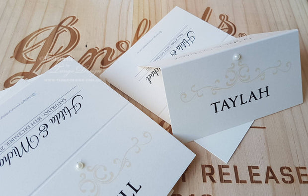 Seating Card, Name Tags, Place, Table Cards