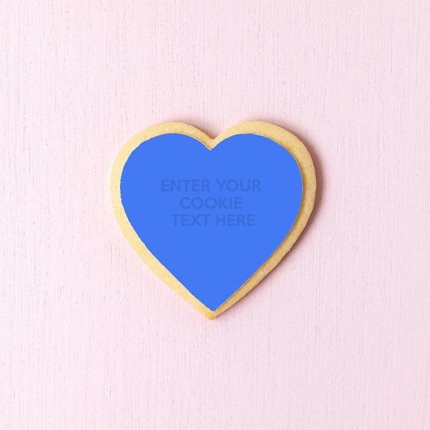 Design your heart shaped cookies