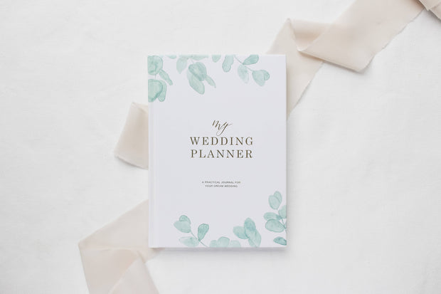 Eucalyptus Wedding Planner Book