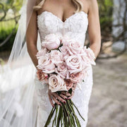 Long Stem Rose Bouquet - 15 Stems