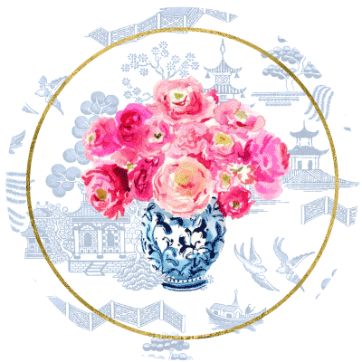 Ginger Jars & Peonies Collection