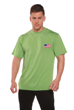Load image into Gallery viewer, American Flag Men's Bamboo Viscose/Organic Cotton Short Sleeve T-Shirt