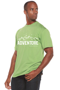 Adventure Printed Men's Bamboo Viscose/Organic Cotton Short Sleeve T-Shirt