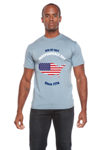 Load image into Gallery viewer, 4th of July Men's Bamboo Viscose/Organic Cotton Short Sleeve T-Shirt