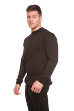 Load image into Gallery viewer, Spun Bamboo® Men's Bamboo Viscose/Organic Cotton Long Sleeve T-Shirt - Spun Bamboo