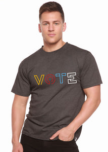 Vote Graphic Men's Bamboo Viscose/Organic Cotton Short Sleeve T-Shirt