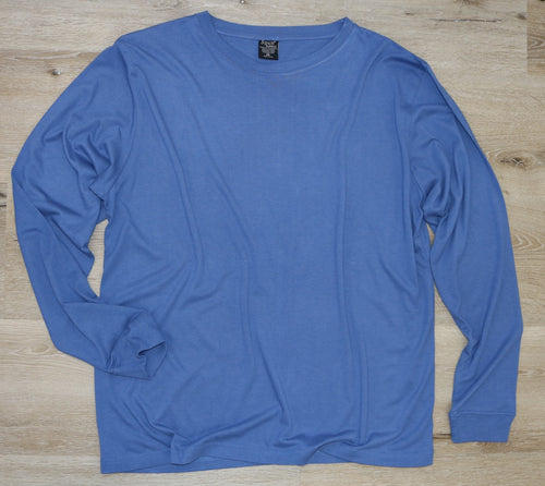 Clearance Men's Bamboo Viscose/Organic Cotton Long Sleeve T-Shirt
