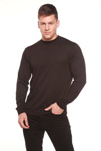 Spun Bamboo® Men's Bamboo Viscose/Organic Cotton Long Sleeve T-Shirt - Spun Bamboo