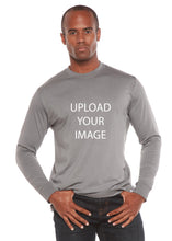 Load image into Gallery viewer, Custom Printed Men's Bamboo Viscose/Organic Cotton Long Sleeve T-Shirt