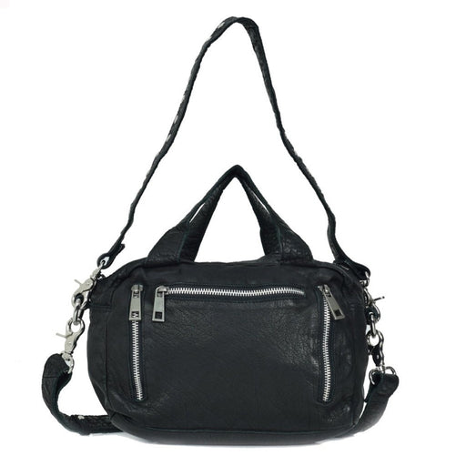 Núnoo Donna washed Crossbody Black