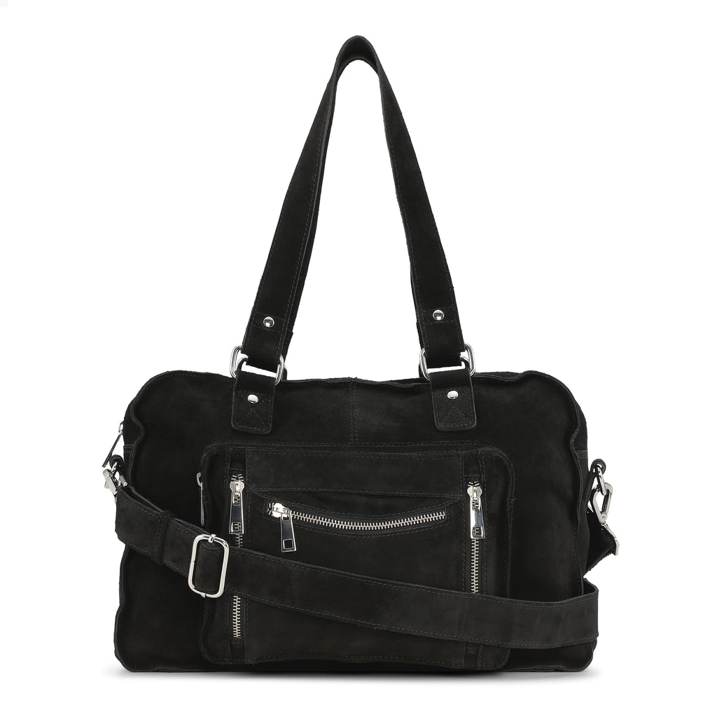 Núnoo Mille new suede Shoulder bags Black