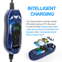 Load image into Gallery viewer, EVFUEL - Type 2 EV Charger | 10A | UK 3 pin Plug | 250V | 2.4KW | 5 Meters | Portable