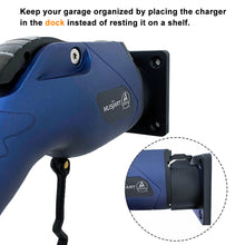 Load image into Gallery viewer, MUSTART EV Charger Nozzle Holster Dock and J-Hook Combination for SAE J1772 Connector EVSE Electric Vehicle EV Charger EV Charger Dock and Hook