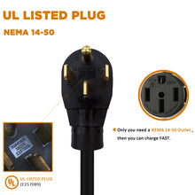 Load image into Gallery viewer, MUSTART Level 2 Portable EV Charger (240 Volt, 25ft Cable, 32 Amp) with NEMA 14-50P