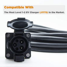 Load image into Gallery viewer, MUSTART - Extension Cord | 40A | J1772 | 240V | 9.6KW | 20FT | Portable | Outdoor Use
