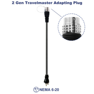 MUSTART GEN 2 The TRAVELMASTER Connector Adapting Plug NEMA 6-20