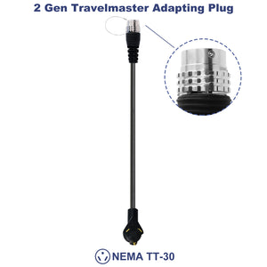 MUSTART GEN 2 The TRAVELMASTER Connector Adapting Plug NEMA TT-30
