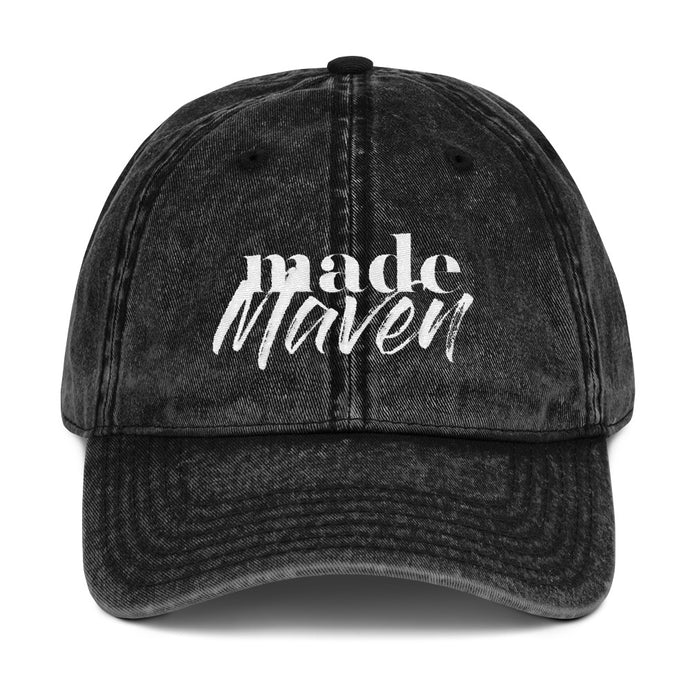 MADE Maven Stonewashed Baseball Cap