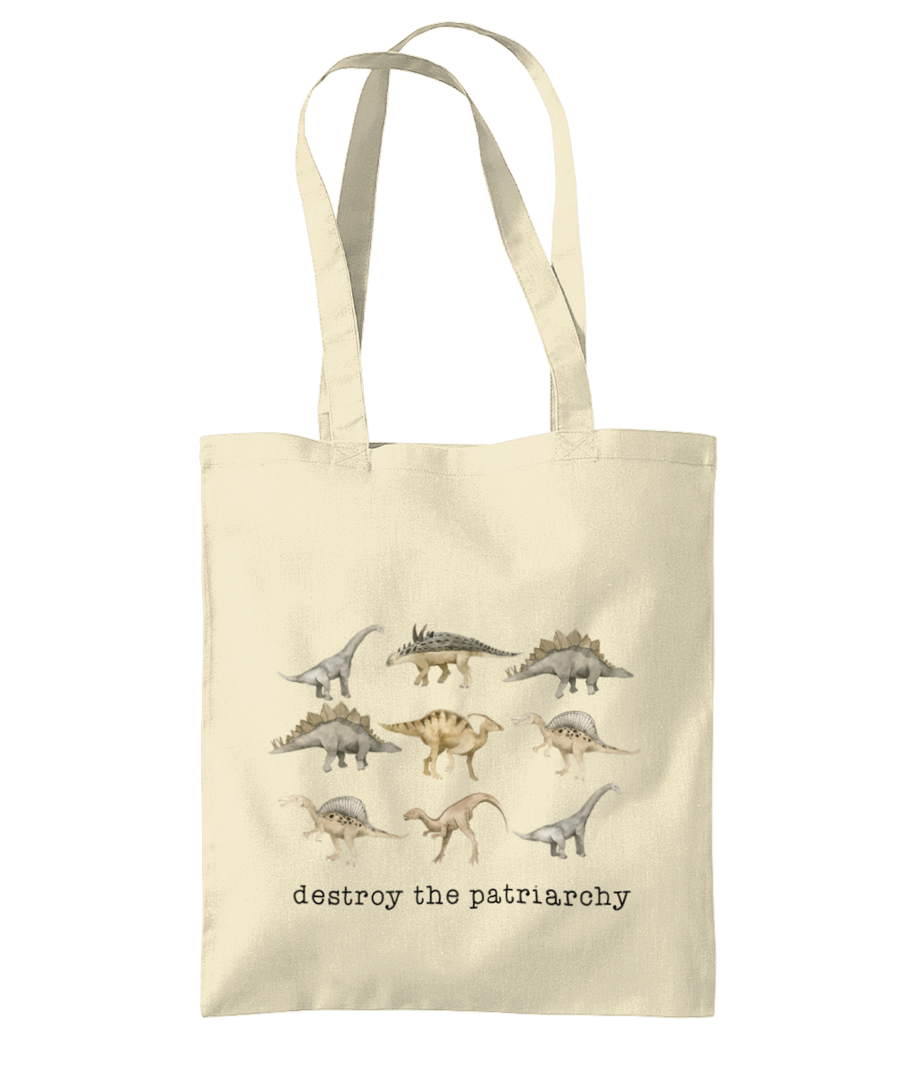 Smash the patriarchy tote bag, Tea Please