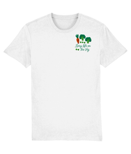 Load image into Gallery viewer, Living Life on the Veg Vegetarian T-shirt