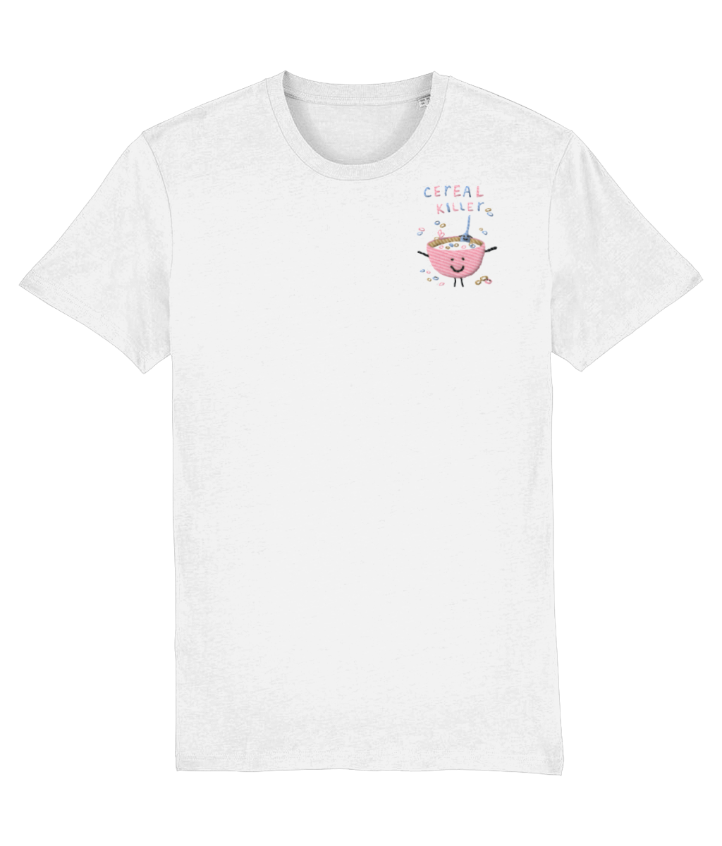 Embroidered Cereal T-shirt