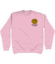 Load image into Gallery viewer, Take care of yourself Embroidered Jumper