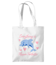 Load image into Gallery viewer, Dolphin tote bag