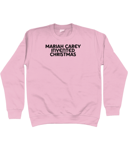 Mariah Carey invented Christmas Jumper