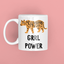 Load image into Gallery viewer, Grrl Power Tiger Girl Power Mug