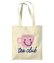 Load image into Gallery viewer, Tea Club tote bag