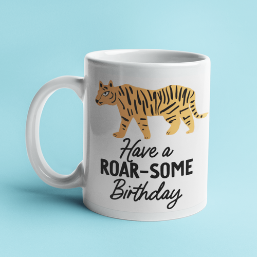 Roar-some Birthday Tiger Mug